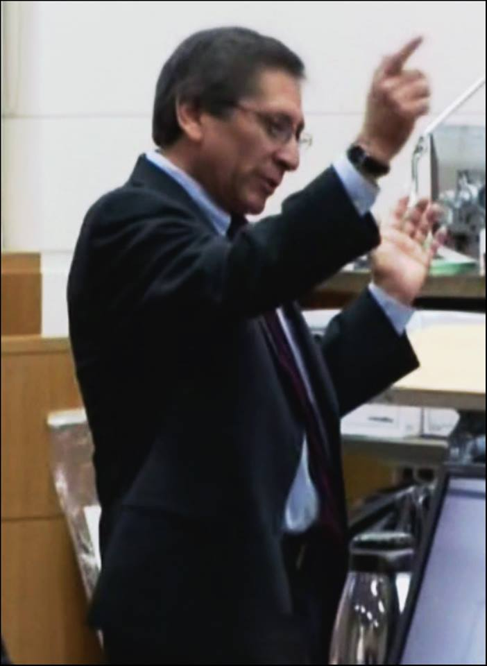 Arias being warned about Juan Martinez by Detective Flores; perfect ...