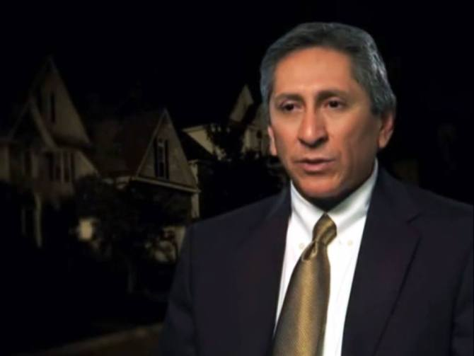 Juan Martinez Photo from interview about Wendi Andriano